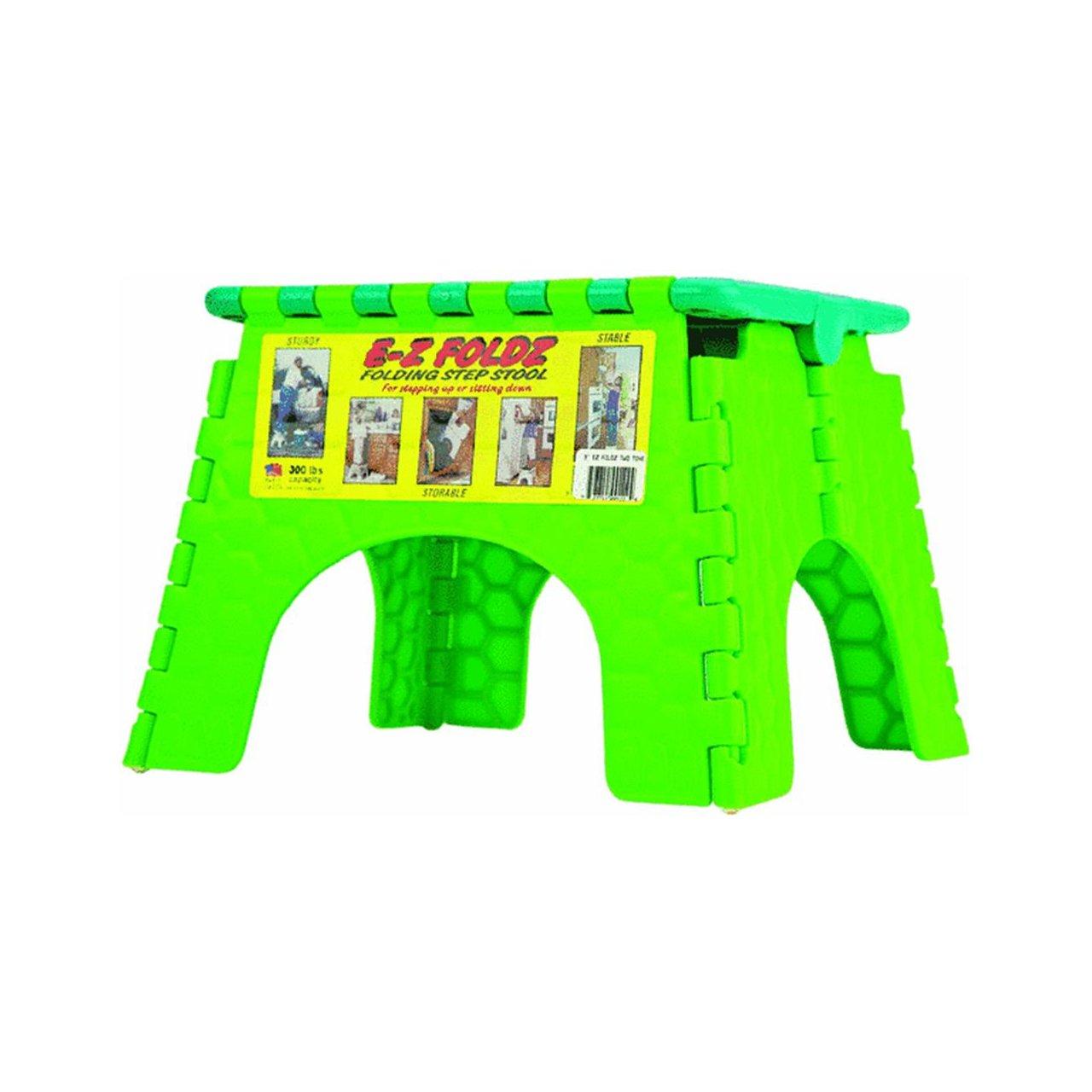 B & R Plastics 1016TT EZ Foldz Stool, (Pack of 6) 101-6TT 631613