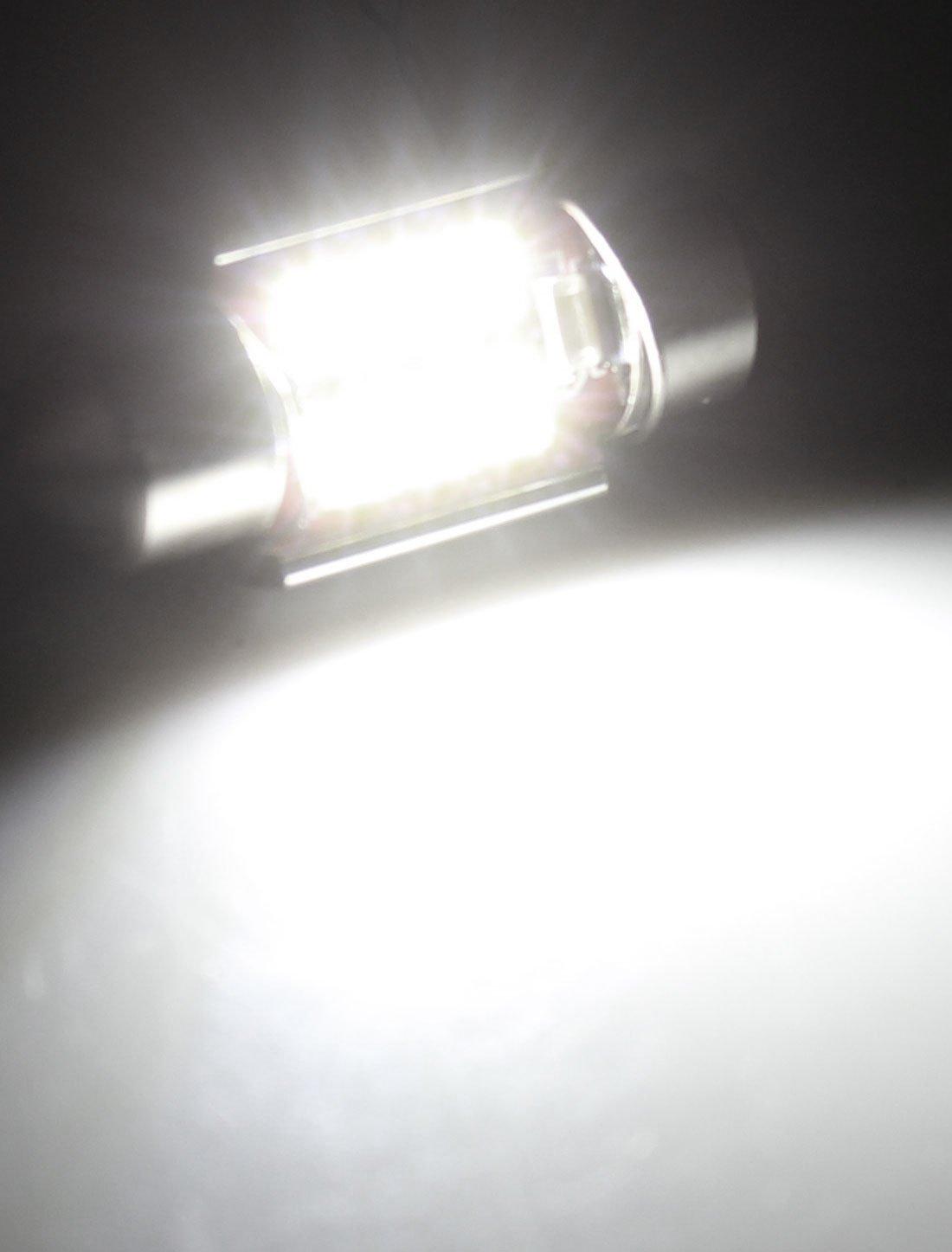 Amazon.com: eDealMax 2 x 31mm 3528 SMD 6 LED No Error Dome luz Blanca: Automotive
