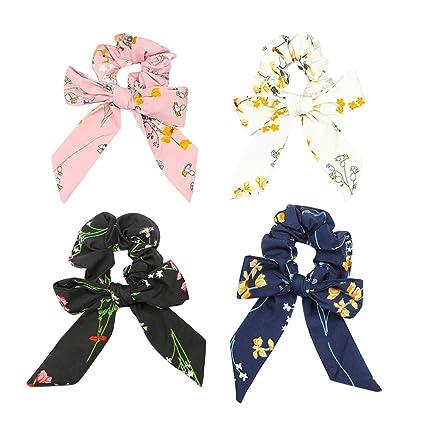 Beaupretty - Cinta de corbata para corbata y flor estampada con ...