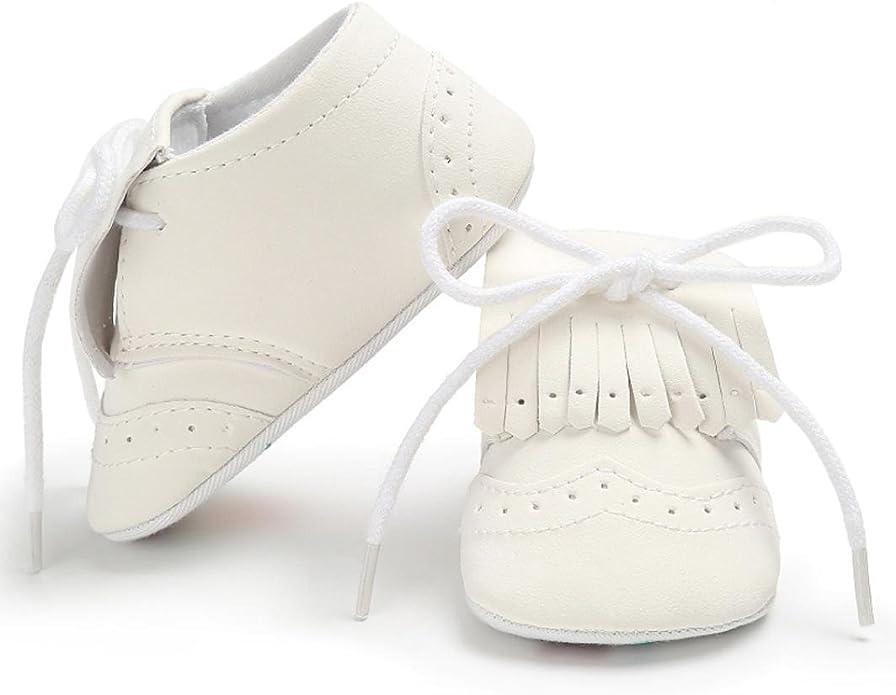 Zapatos de beb/é para beb/és Botas para ni/ños Chicas Chicos Borla Suela Blanda Antideslizante Lona Zapatos de Cuna Zapatillas LMMVP