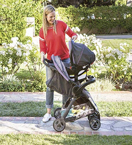 Graco Fastaction Fold Click Connect Travel System Stroller, Janey by Graco (Image #2)