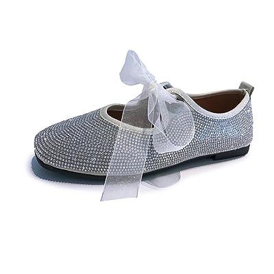Chaussures Adultes à Fond Plat Pois Shoesballet Forage Chaud Chaussures De Danse Rubans Chaussures -Chaussures de Plage Sandales Femmes Plates Tongs Femme Chaussons Sexy Escarpins