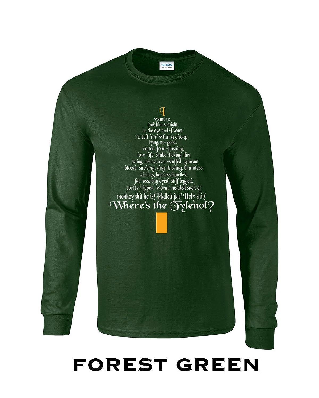 398 Clark Rant Funny Adult Long Sleeve T Shirt