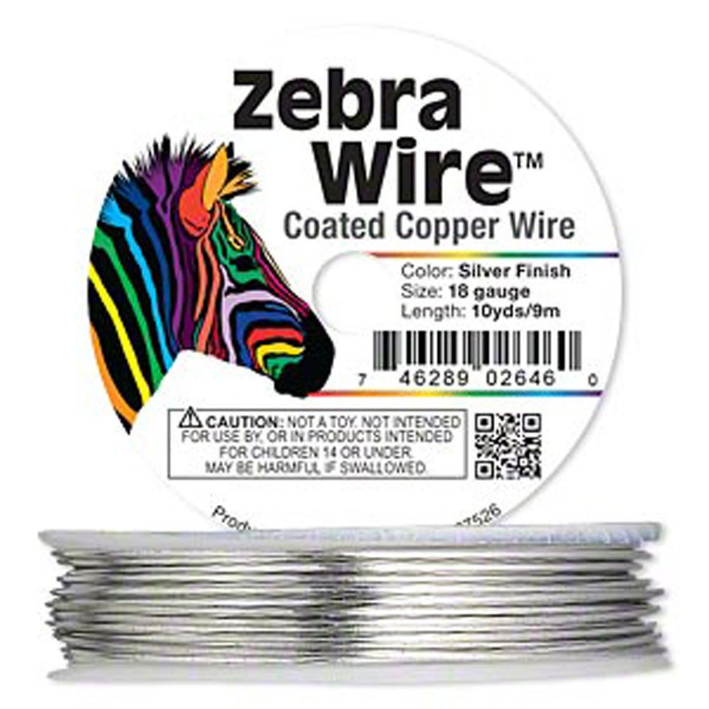 Amazon.com: Zebra Wire Gold/Silver/Copper Round spool 12, 14, 16, 18 ...