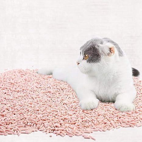 CJN Arcilla para Gatos, Tofu para Gatos, Tofu De Melocotón Y Durazno - Adhesivo