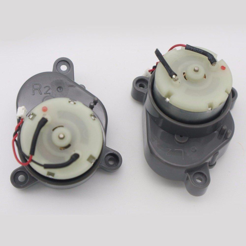 YTT Derecho + lado izquierdo cepillo motor para chuwi iLife A4 x620 A6 T4 X430 X432 robot aspiradora partes: Amazon.es: Hogar