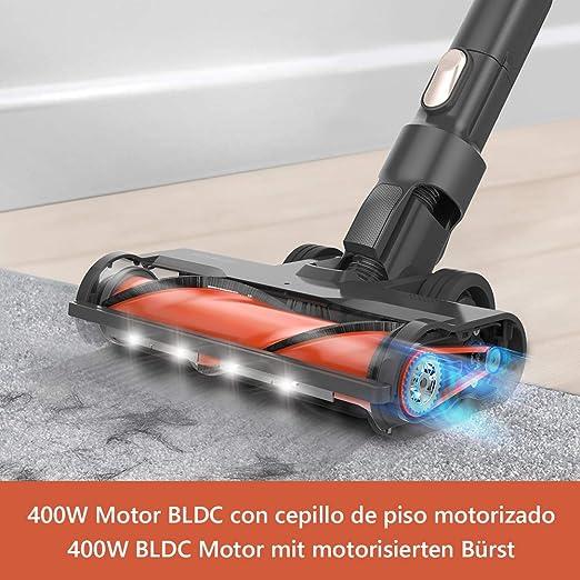 Aspirateur womow HC 1803A : aspirateur balai, 25000pa