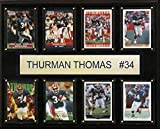 NFL Buffalo Bills Thurman Thomas Buffalo Bills 8-Card Plaque, 12 x 15-Inch