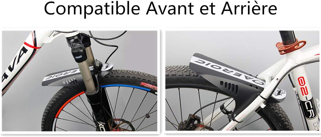 2 guardabarros para bicicleta de monta/ña 2 unidades RUIXIA