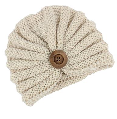 Outflower Chapeau Tricoté Chaud Bonnet Enfants Hiver Casquette écharpe de  Style Bohème 92730cfc902