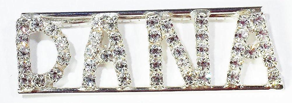 Personalized Rhinestone DANA name//magnet back