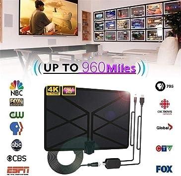 BangHaa Antena de TV for TV Digital de Interior, Cubierta ...