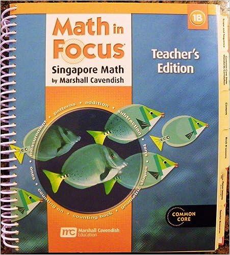 Amazon math in focus singapore math teachers edition book b math in focus singapore math teachers edition book b grade 1 2013 1st edition fandeluxe Image collections