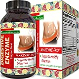 Pure Digestive Enzyme Capsules with Lipase Amylase Protease – Aids Digestive System Natural Immune System Booster – Breaks Down Carbohydrates Reduce Bloating Gas Digestive Enzymes Pills Review