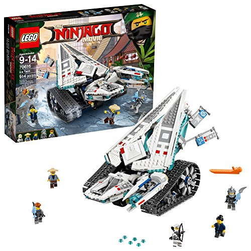 LEGO Ninjago Ice Tank Building Kit (914 Piece), Multicolor