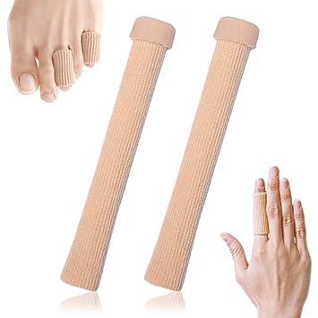 Women's Socks & Hosiery Underwear & Sleepwears Charitable New Tube Bandage Gel Cap Moisturising Finger Toe Protector Sore Corn Pain Relief S-l