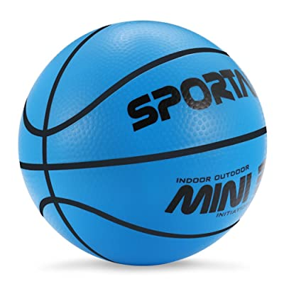 "YAPASPT Small Basketball Mini Bouncy Ball for Kids,Safe and Soft to Handheld 5.5"" Cute Toy Basketballs Come Deflate: Clothing"