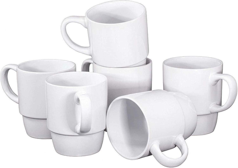 Amazon.com: Granatan Set of 7 Porcelain Coffee Mugs - 7 Ounce Tea