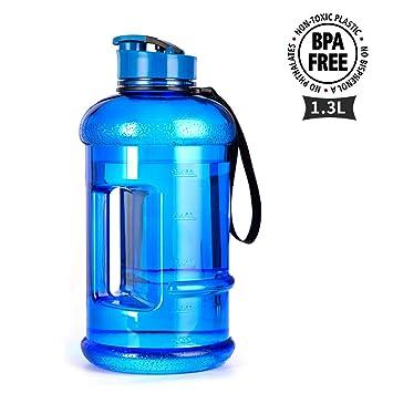 Amazon.com: TOOFEEL - Botella de agua para deportes (2,2 L ...