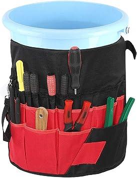 Organizador de herramientas de cubo - Kit de herramientas de jardinería Almacenamiento Multiuso 42 Bolsillos Organizador de bolsas de cubo de jardín Soporte de herramientas de jardinería: Amazon.es: Bricolaje y herramientas