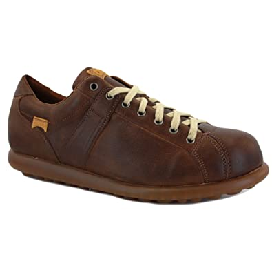 Camper Pelotas Ariel 17408 076 Mens Laced Leather Trainers