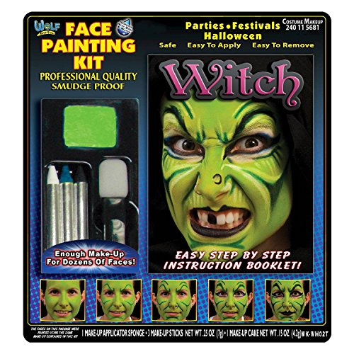 WITCH MAKEUP KIT WOLFE