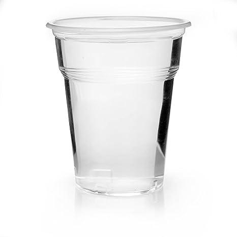 30 Trinkbecher glasklar 0,3 Einwegbecher Plastikbecher