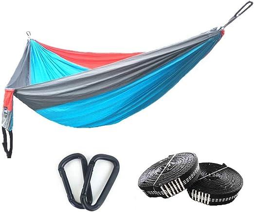 200kg Hammock Parachute Swing Outdoor Camping Yard Patio Sleeping Bed Sack