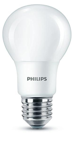 279 opinioni per Philips Lampadina LED Goccia, E27, 8 W Equivalenti a 60 W, Luce Bianca Naturale