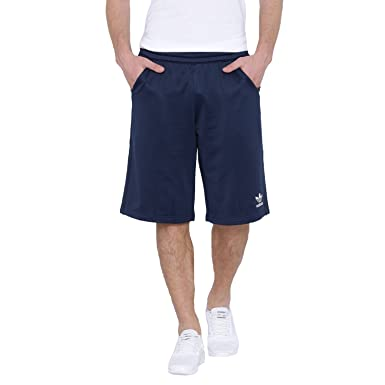 a168a615f adidas Originals Mens Budo Knee Length Shorts - Navy - Large: Amazon ...