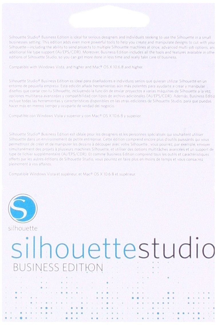 Business License Code Silhouette Studio