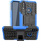 Galaxy A10S Case, Samsung A10S Case, with HD Screen Protector, SKTGSLAMY [Shockproof] Tough Rugged Dual Layer Protective…