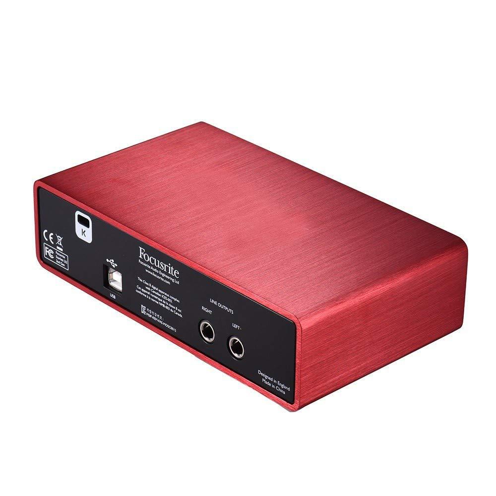 Doolland Scarlett 2i2 2da generación Tarjeta de sonido de ...