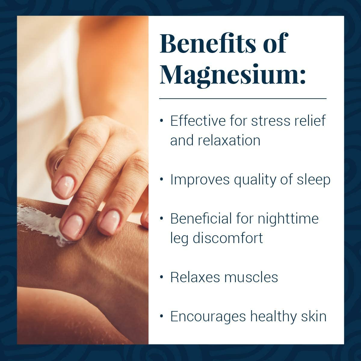 Ancient Minerals Magnesium Lotion ULTRA with MSM - Pure Genuine Zechstein Magnesium Lotion Supplement with MSM for Topical Application (5oz) : Beauty