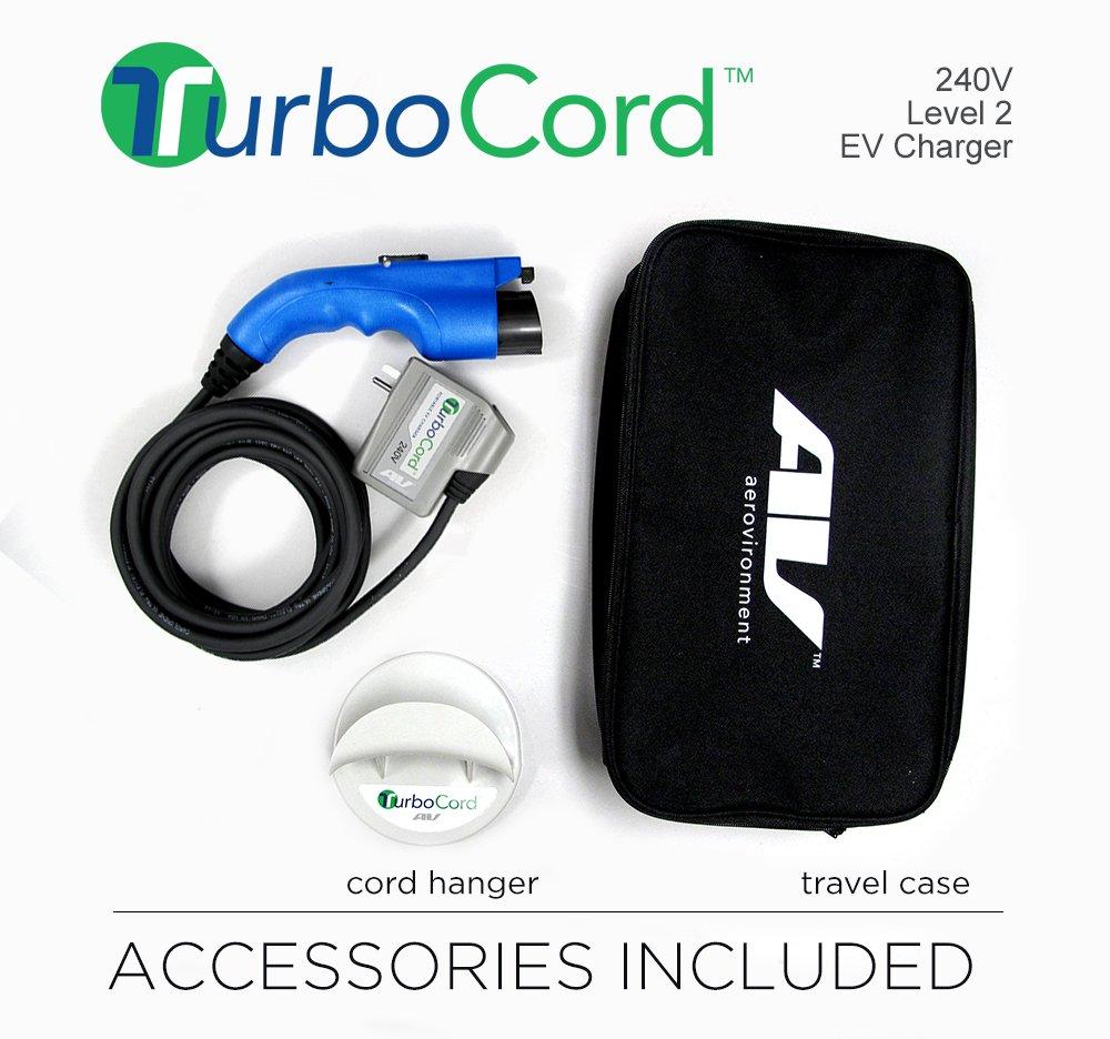 AeroVironment turbocord 240 V Plug-in EV de batería: Amazon.es: Coche y moto