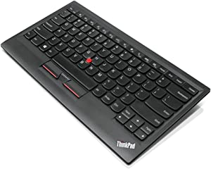 Lenovo ThinkPad Compact USB Keyboard with Trackpoint - Wired Keyboard - USB - Black