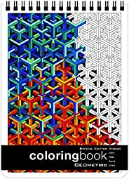 Geometric Adult Coloring Book Special Edition (8.62 x 11.75 inches)