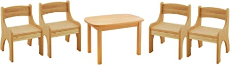 Biokinder 24793 Savings Set Levin Children S Furniture Table And 4 Chairs Amazon Co Uk Kitchen Home
