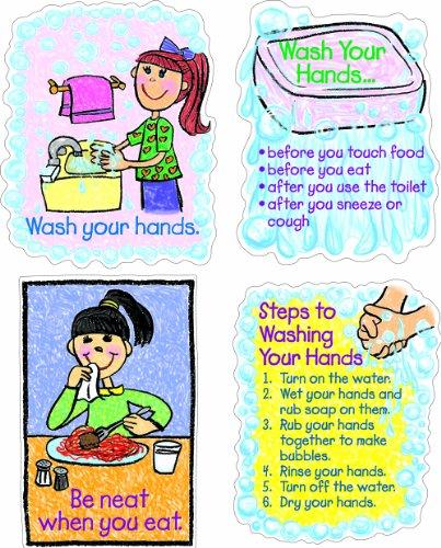 Carson Dellosa Hygiene: Kid-Drawn Bulletin Board Set (3258)