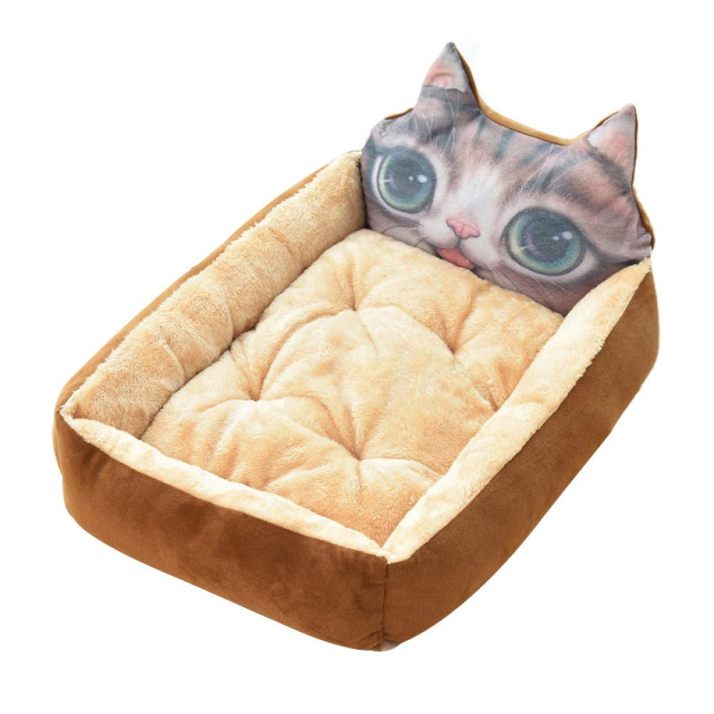 CZHCFF Cute pet winter dog bed sofa soft warm cat bed room puppy mattress cushion pet sofa bed dog