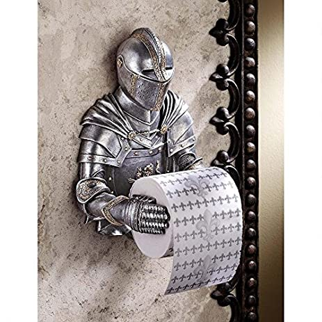 toilet paper holder medieval knight to remember gothic bathroom decor toilet paper roll