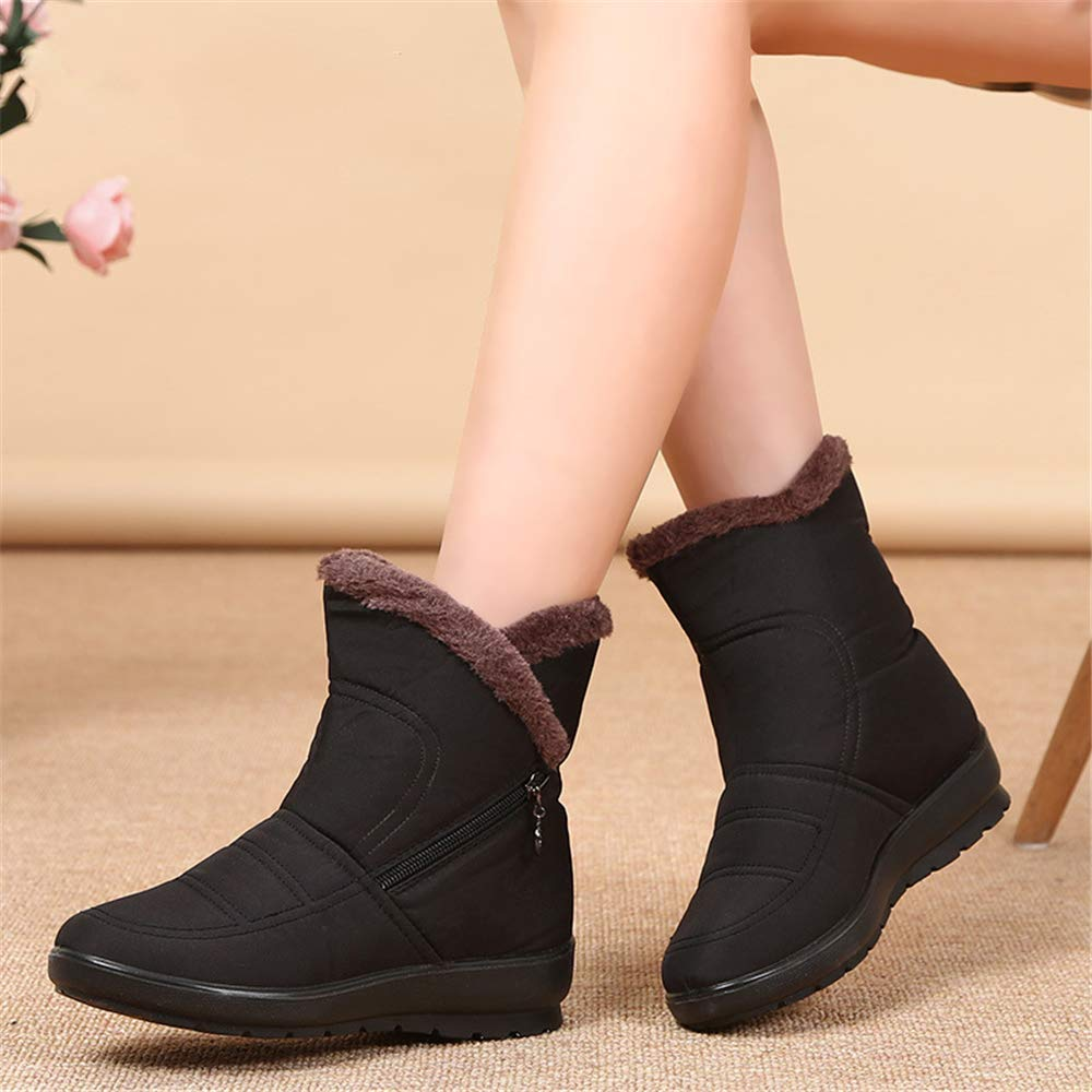 unyielding1 WomenWaterproof Snow Boot Cold Weather Boot Warm Boots Snow Boots Winter Boots