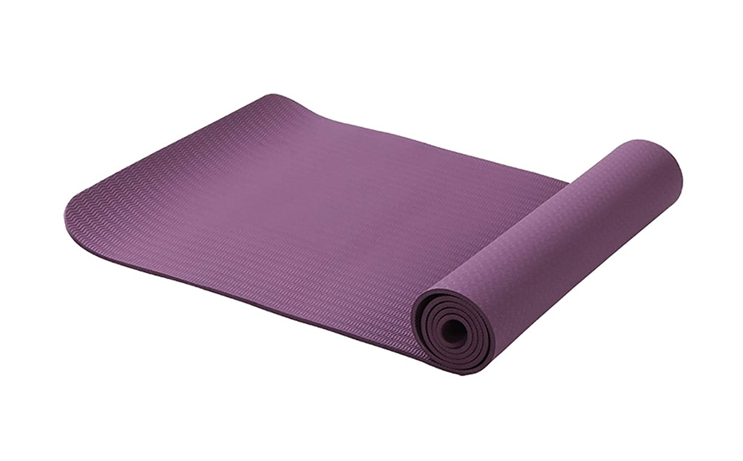 Amazon.com: 6MM TPE Non-Slip Yoga Mats for Fitness Tasteless ...