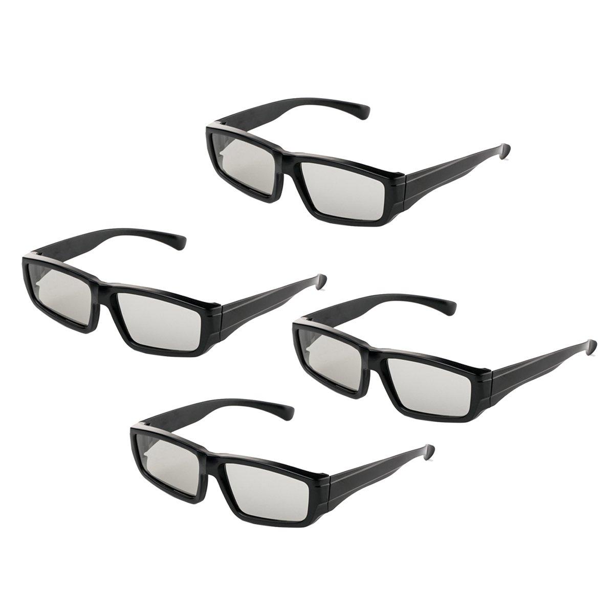 dad956c57a Gafas 3D pasivas Lentes polarizadas circulares para la familia Todas las  edades Sony Sharp Toshiba LG