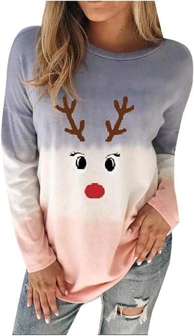 Fudule Womens Crewneck Sweatshirt Lightweight Long Sleeve Casual Pullover Shirts Sun Flower Printing Graphic Tops Blouse
