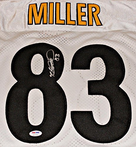 Heath Miller Autographed Jersey - Pittsbugh White Size 52 - PSA/DNA Certified - Autographed NFL Jerseys ()