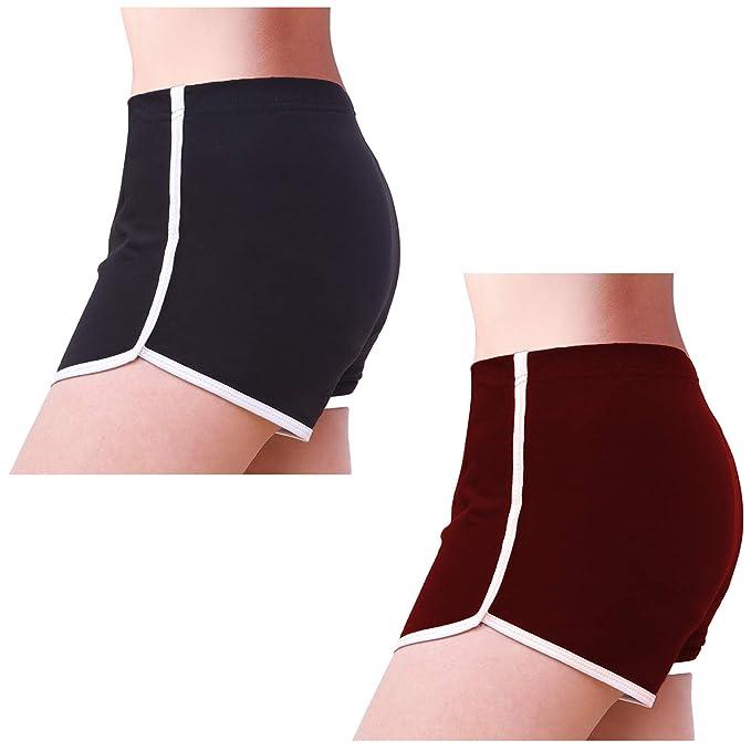 Amazon.com: URATOT - Pantalones cortos deportivos de algodón ...