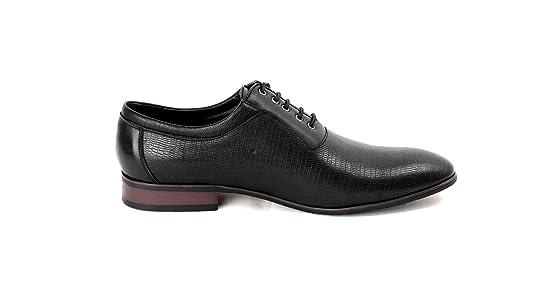 Chaussures De Mode En Cuir De Style Oxford Regard Homme Italien Ru Juin 7 8 9 10 11 Taille - Café, 40,5 Eu