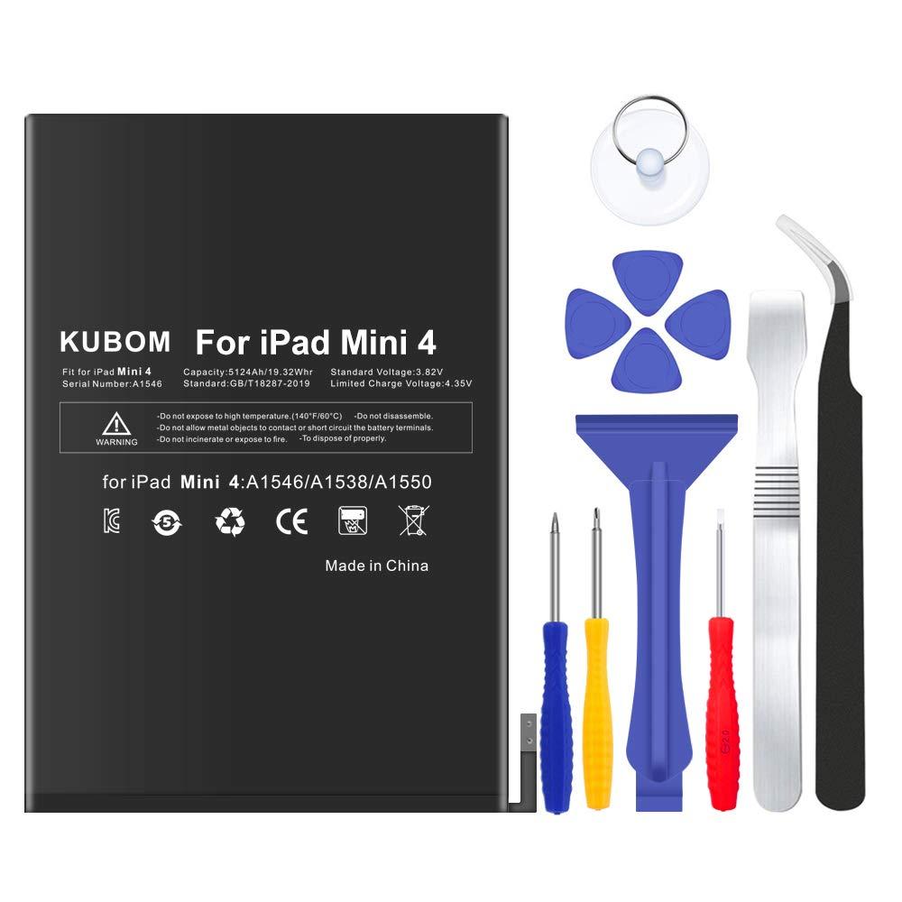 Bateria Tablet Para iPad Mini 4 Full 5124mah 0 Cycle - Inclu