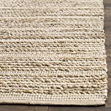 Safavieh Cape Cod Collection CAP851G Hand Woven Natural Ivory Jute Cotton Runner (2'3'' x 8')